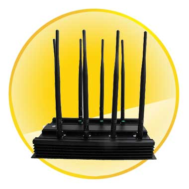 High Power 16W 3G 4G Cell Phone and GPS WiFi Lojack Jammer (European Version)