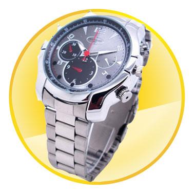 1080P HD IR 8GB Camera Wristwatch with  Waterproof