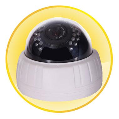 "1/3"" 1.3 Megapixel Low Illumination CMOS Sensor Dome Camera"