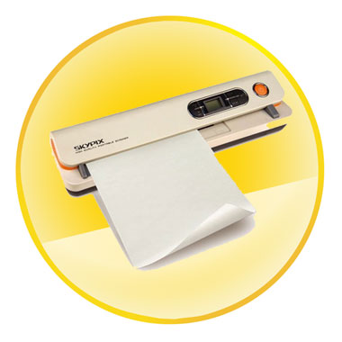Color LCD Screen Display Portable Scanner