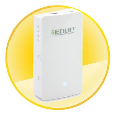 Multifunctional EDUP Cloud Assistant 150mbps 3G Router