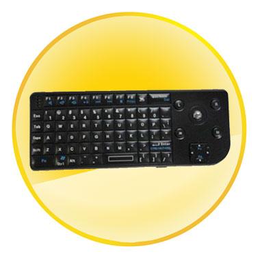 2.4G Radio Engineering Wireless Mini Keyboard