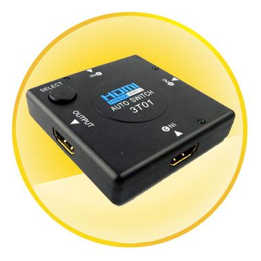3 Port 1080P HDMI Auto Switch
