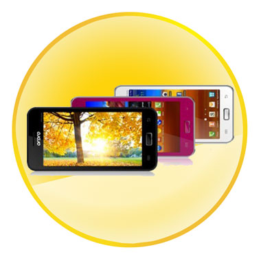 """5"""" PDA Flat Touch Panel Android 4.0 OS Dual Core Smart phone"""