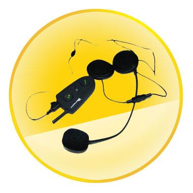 GPS Bluetooth Helmet Headset for Biker Intercom Communication