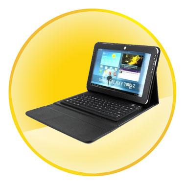 Bluetooth Keyboard for Samsung Tablet N8000/7510/5100