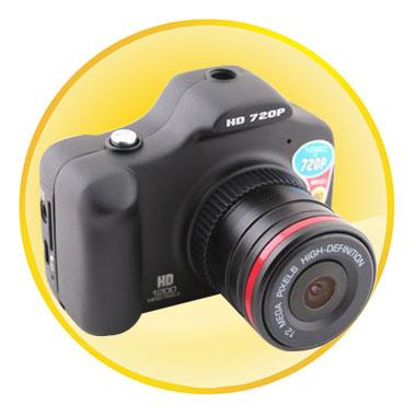 720P Mini Handheld Car Video Recorder