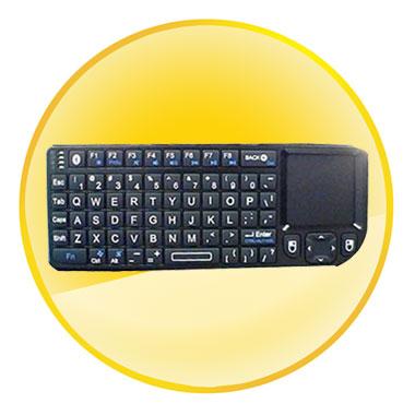 RII Lastest Style Bluetooth Mini Handheld Keyboard