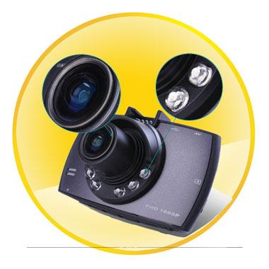 2.7 Inch  HD 1080P With G-Sensor Car DVR