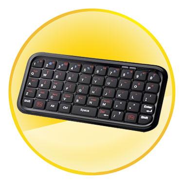 Bluetooth 2.0 Chipset Mini Wireless Keyboard