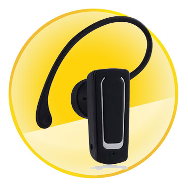 Voice Dialing Mono Bluetooth Headset with Tail Number Redial Function