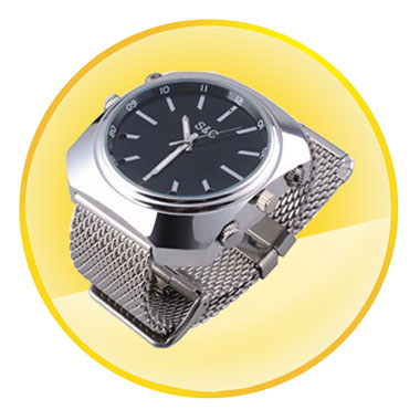 8G Real HD 1080P Waterproof Watch Camera and Mini DVR