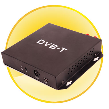 DVB-T Digital TV Receiver (MPEG4) For Car
