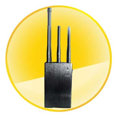 Selectable Handheld Bluetooth LoJack GPS 3G Mobile Phone Jammer