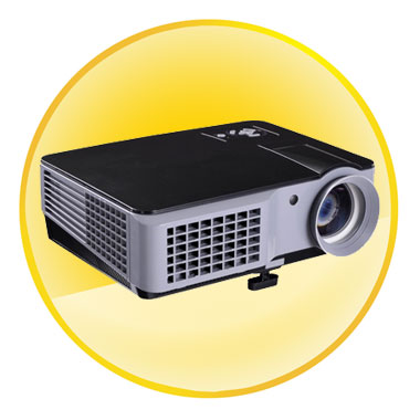 5 inch LCD TFT Display 2200 Lumen High Quality Projectors for Home Theater