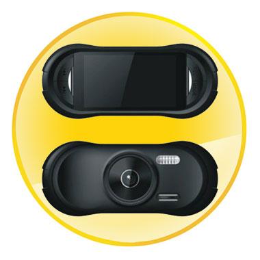 2.7 inch Full HD 1080P GPS G-Sensor Car DVR