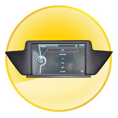 BMW X1 E84 Car DVD Player with GPS Navigation (8inch,1 Din)