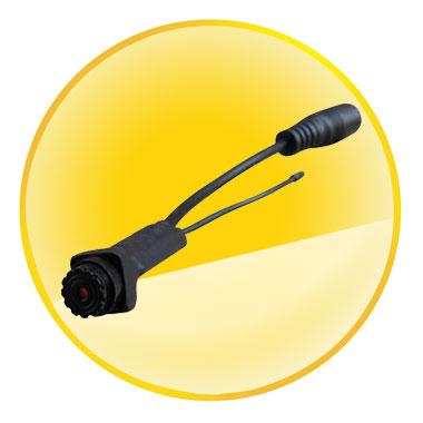 5.8GHz Micro Size 0.008lux Wireless Mini Camera