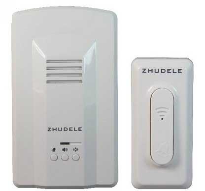 200m waterproof ip56 64 chords wireless doorbell with remote control