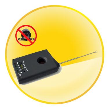RF/Lens Multi Function Bug Detector