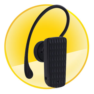 Low Power Mono Bluetooth Headset with Voice Dialing