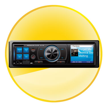 Car Vehicle Audio Stereo In Dash FM Receiver Mp3 Player USB SD Input AUX