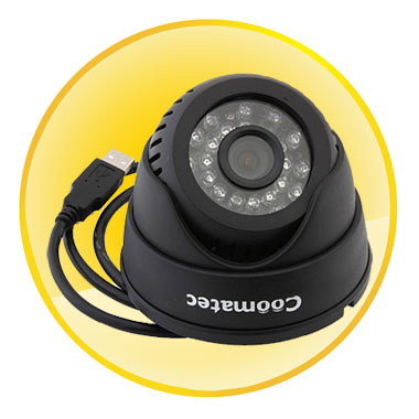 SD Card DVR CCTV Surveillance Camera with Night Vision