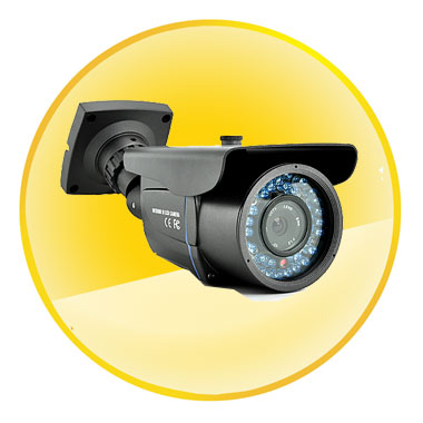 Nightvision CCTV Camera with 1/3 Inch SONY Super HAD CCD II   (700 TVL)