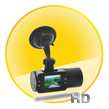 720P HD In-Car DVR with 2 Inch LCD Display and Night Vision (4GB)