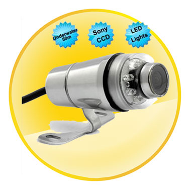 520TVL IP68 Sony CCD Underwater Camera