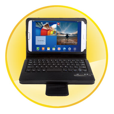Removable Magnet Bluetooth Keyboard Case for Samsung Galaxy Tab 3 8.0 inch
