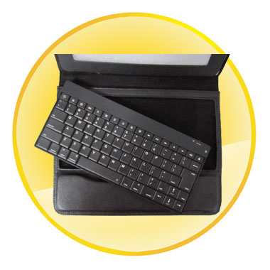 Fashion Detachable Bluetooth Keyboard