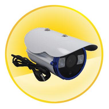 H.264 Easy Setup HD 720P SD Card DVR CCTV Surveillance Camera