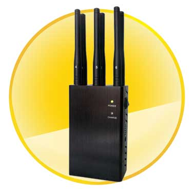 6 Antennas Handheld 3G 4G WiFi Signal Blocker