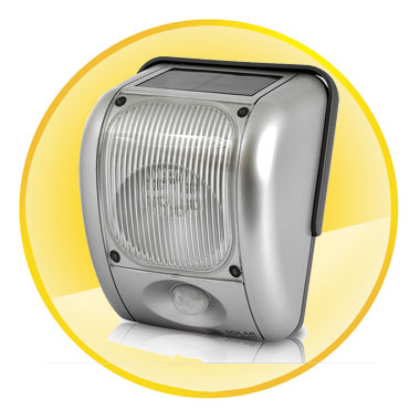200 Lumen Solar and Dynamo Powered Outdoor Security Light