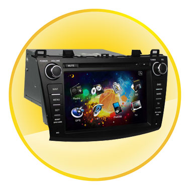 8 inch Touch-Screen Car DVD with GPS for MAZDA3 2009-2012