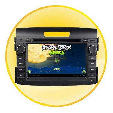 8 inch Digital TFT Touch-Screen Android 4.0 Car DVD for CRV 2012