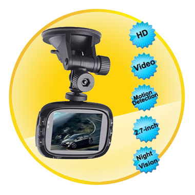 2.7 Inch 1080P HD Entertainment Car Video Recorder