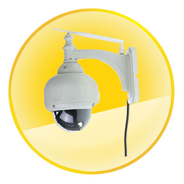 Wireless IP camera Pan/P2P Security Video Monitor Night Vision CCTV Outdoor Network Web-cams System