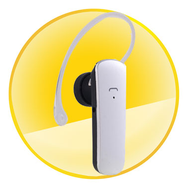 Effective Distance 10M Mono Bluetooth Headset with Digital Signal Processing