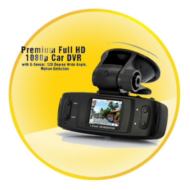 Full HD 1080p Video Recording Portable Car DVR