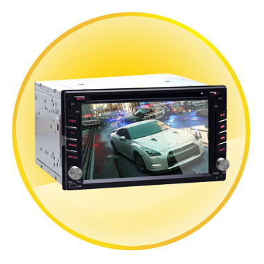 6.2 Inch Universal Touch Screen Car DVD Player GPS Navigation Android 4.2.2 Dual Core