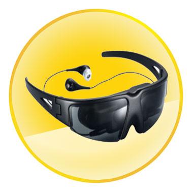 52 inch Virtual Screen 320k Pixels Mobile Cinema Eyewear