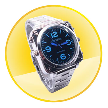 New Style 1080P 8GB Watch Camera with Sound Activation