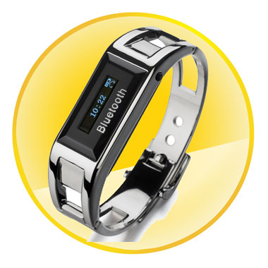 Metal Stainless Steel Bluetooth Bracelet for Smartphone