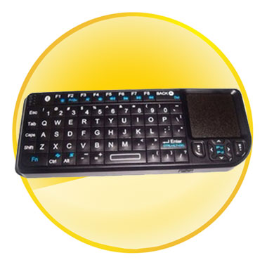 Multi-function Wireless Mini Bluetooth Keyboard