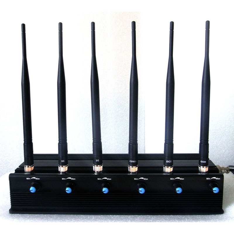 6W Powerful All WiFi Signals Jammer (2.4G,3.6G,4.9G,5.0G,5.8G)