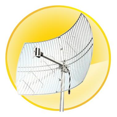 24dBi Directional WiFi Parabolic Grid Antenna