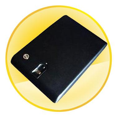 6 Fingerprints Capacity Fingerprint Safe Box