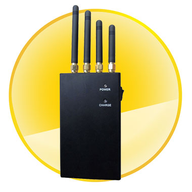 4 Band 4W Portable GPS  Cellphone signal Jammer